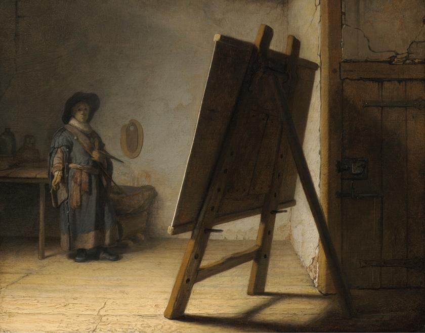 008 Rembrandt-SelfPortrait-MFABoston