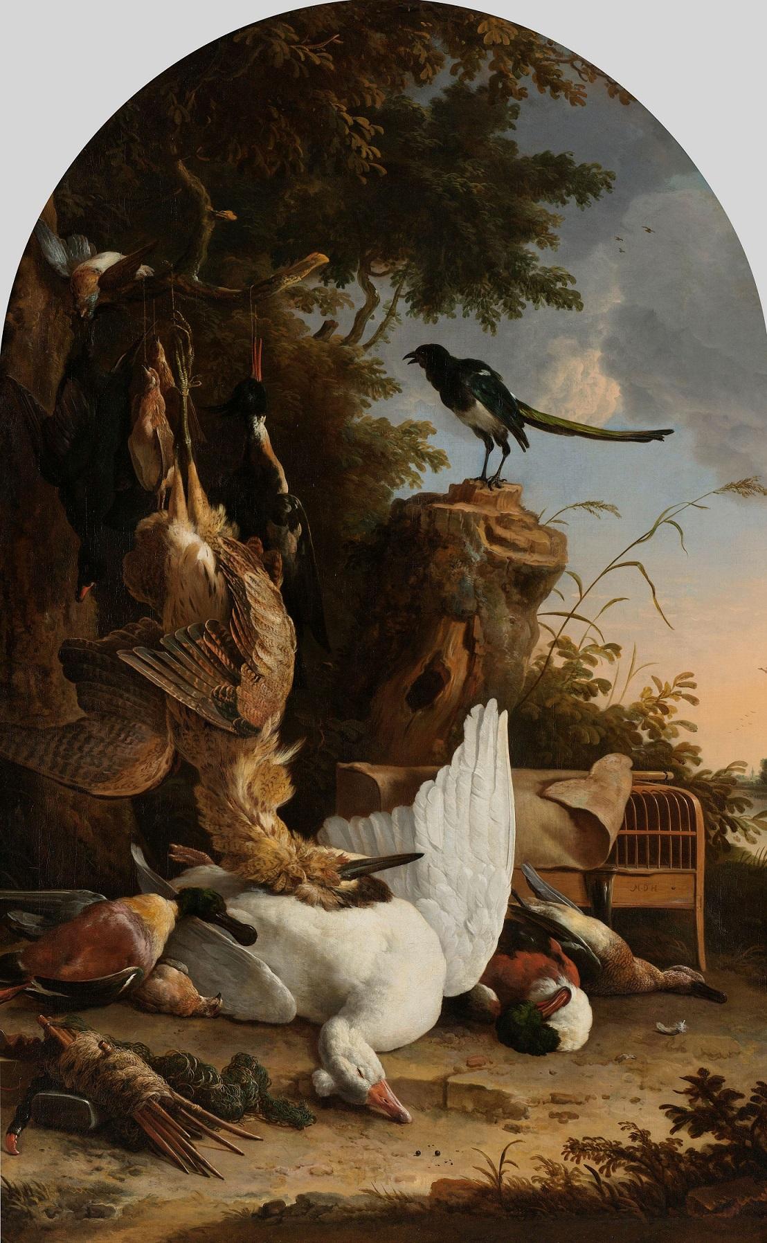 Обои мифология, картина, Горный Пейзаж с Искушением Христа, Ян Брейгель старший, религия. Разное foto 12