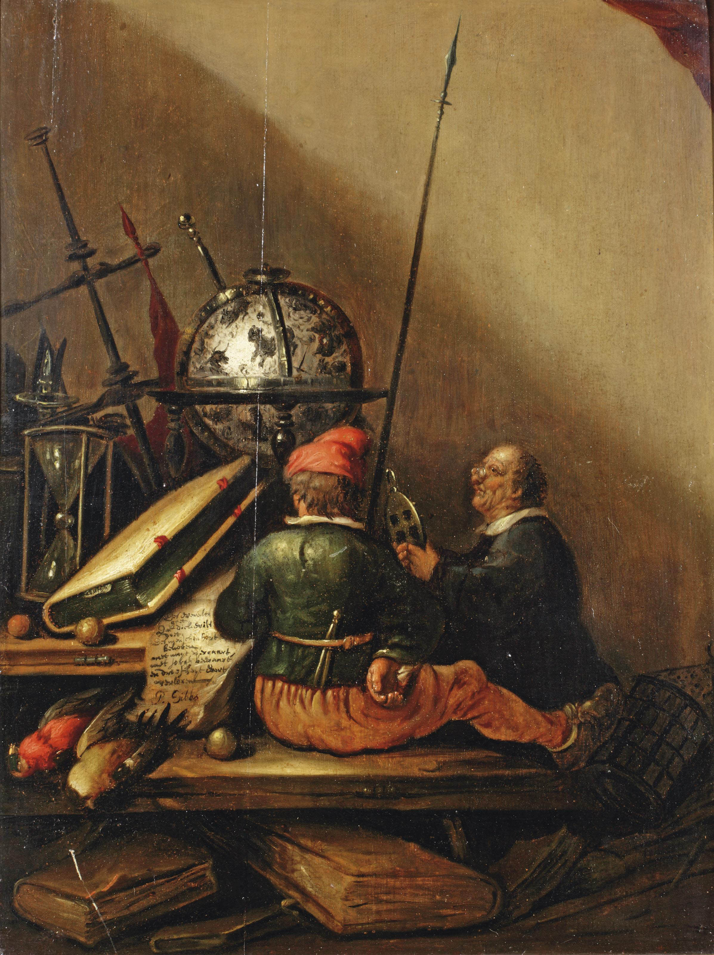 Обои повозка, Ян Брейгель старший, Пейзаж с Путниками, всадник, картина. Разное foto 11
